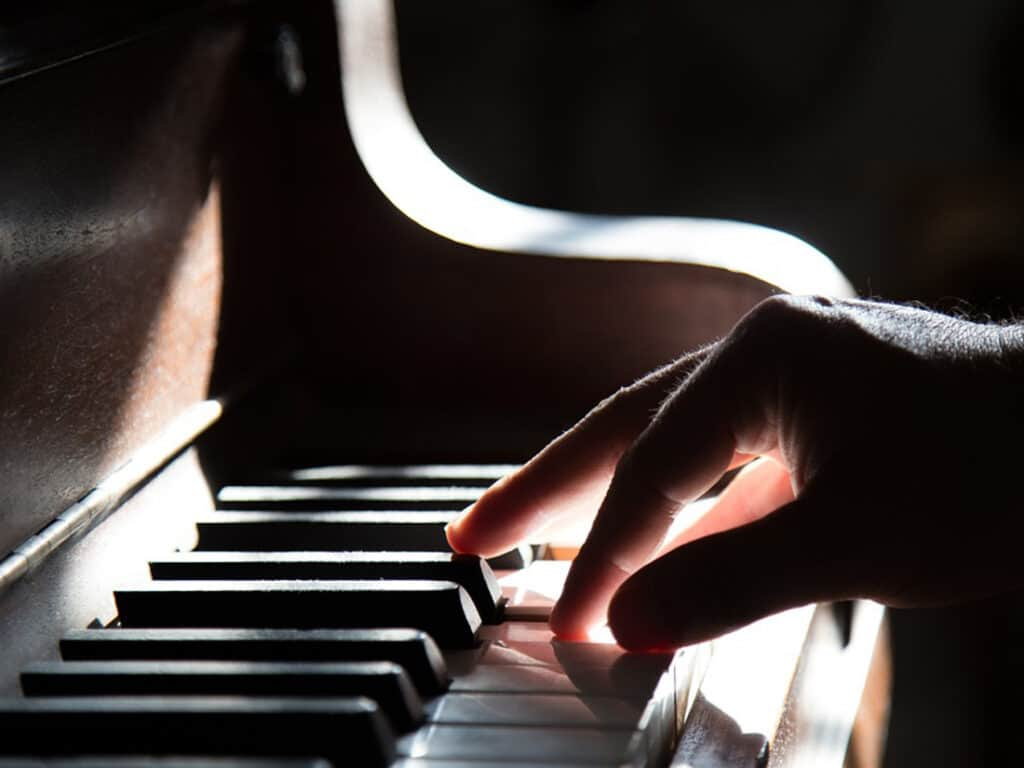 Piano as an activity for seniors