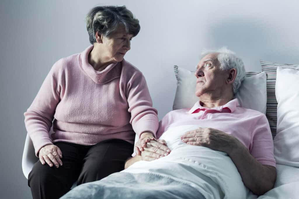 Spouses in the caregiving role