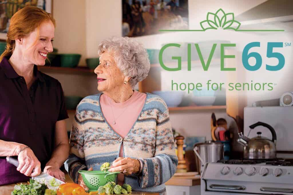 Celebrate Seniors with GIVE65